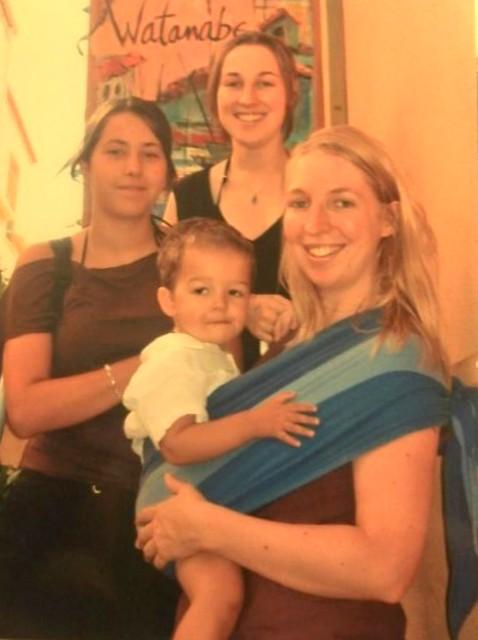 portage bébé physiologique écharpe (2)