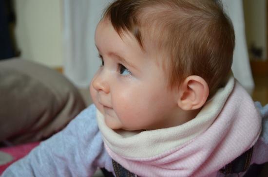 ★ Tuto: un snood pour bébé ★